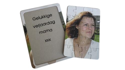 Fotopuzzel als origineel verjaardagsgeschenk - gepersonaliseerde puzzels met foto bij mijnkadootje